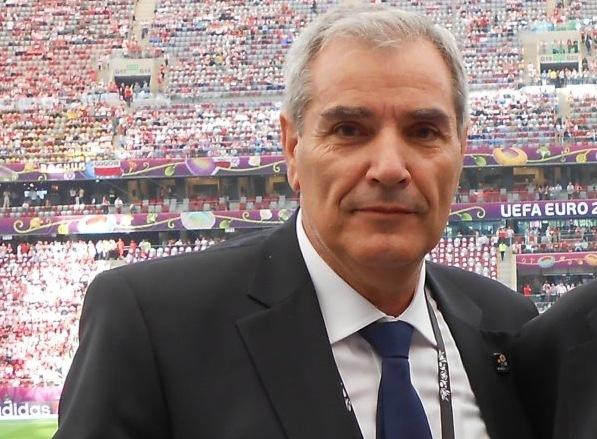 Ο πρόεδρος της ΕΠΣΚΙ κ. Β. Μαζαράκης