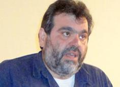 O πρόεδρος των Καθηγητών κ. Διον. Γεωργόπουλος