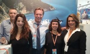 Δύο φωτό από την Κεφαλονίτικη αποστολή στο Λουγκάνο της Ελβετίας