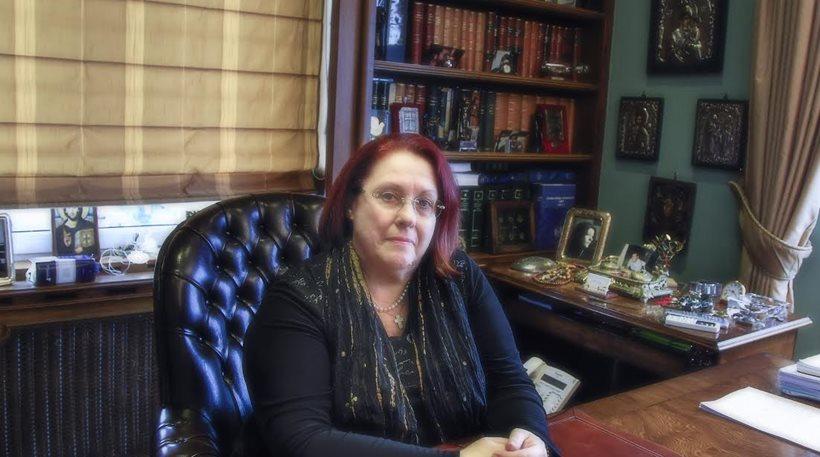 Η Γενική Επιθεωρήτρια Δημόσιας Διοίκησης κ. Μαρία Παπασπύρου