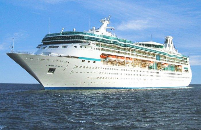 Το κρουαζιερόπλοιο «Vision of the Seas»